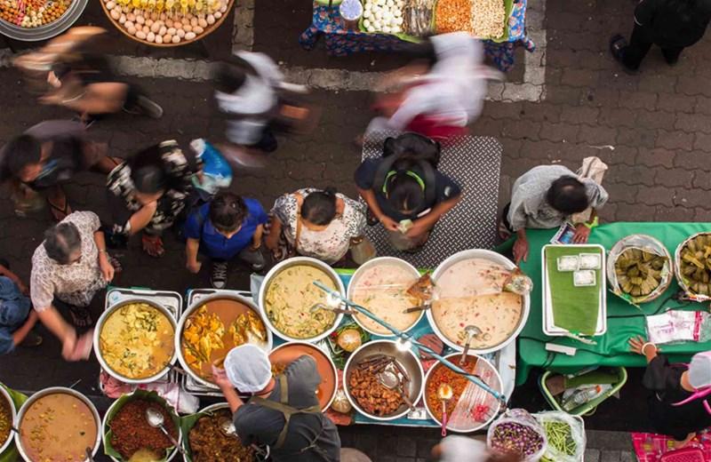 هزینه ی خورد و خوراک در بانکوک