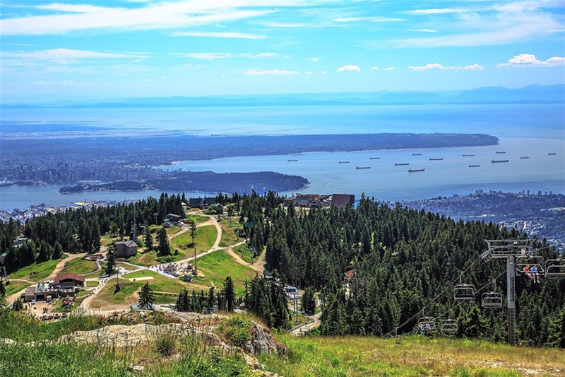 کوه گروس یا Grouse Mountain